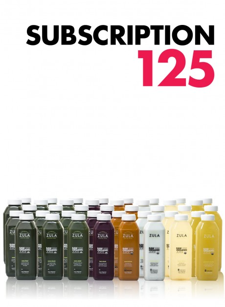 Juice – Cleanse Subscription 125