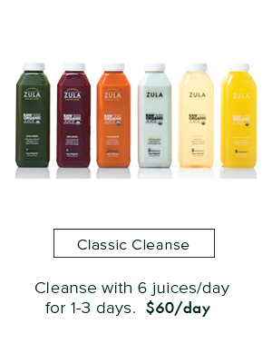 Classic Cleanse - 6 Juices/day