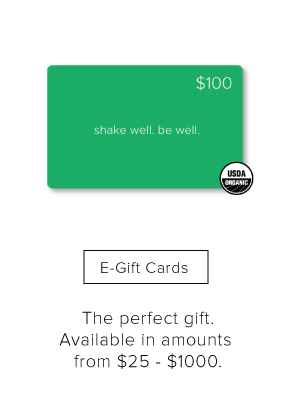 Juice and Cleanse Giftcards